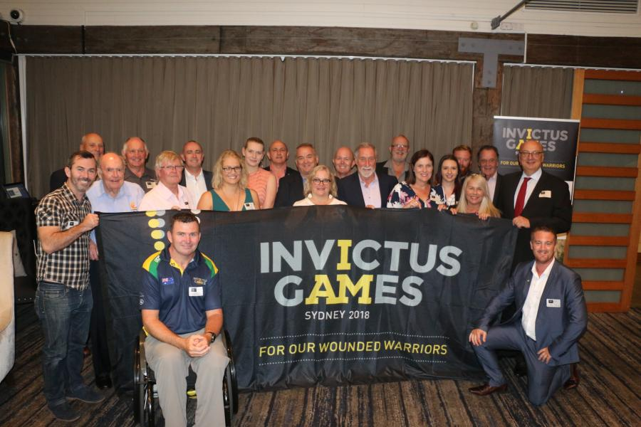 Invictus club partner function